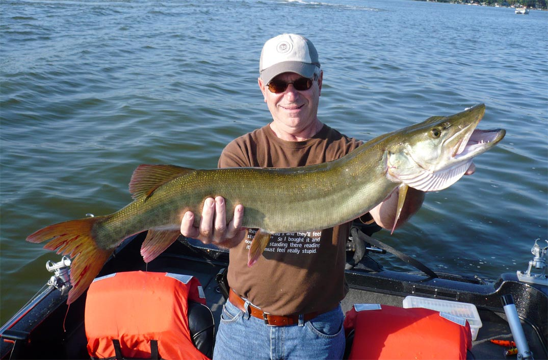 Image gallery muskie fish for Southern wisconsin fishing resorts
